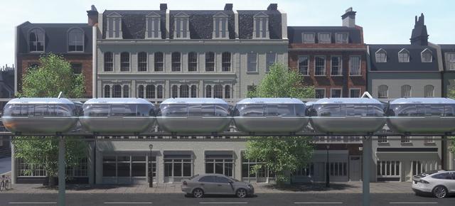 New autonomous mass transit system launches